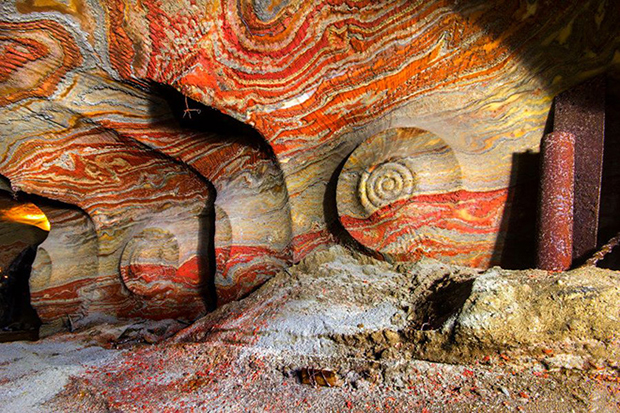 Image of Psychedelic Russian Salt Mines by Mikhail Mishainik
