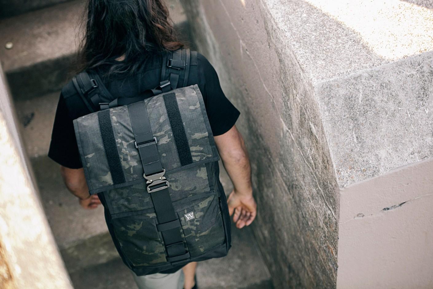 Image of Mission Workshop Limited Edition MultiCam Cargo Pack