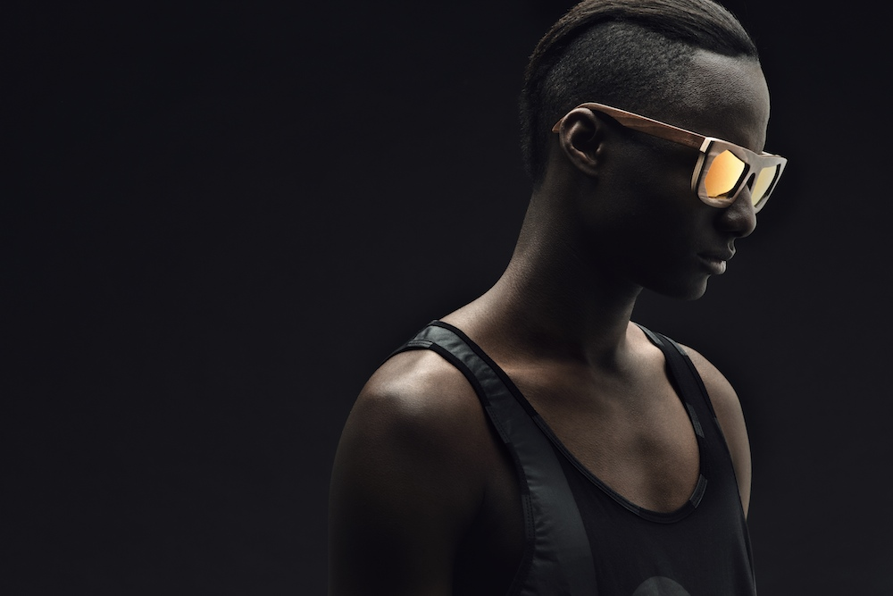 "Image of Montaigne Street x WOOD FELLAS ""Planète Sombre"" Eyewear Collection"
