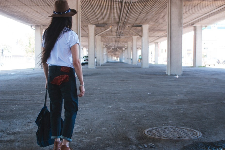 Image of Naked & Famous Kimono Jeans