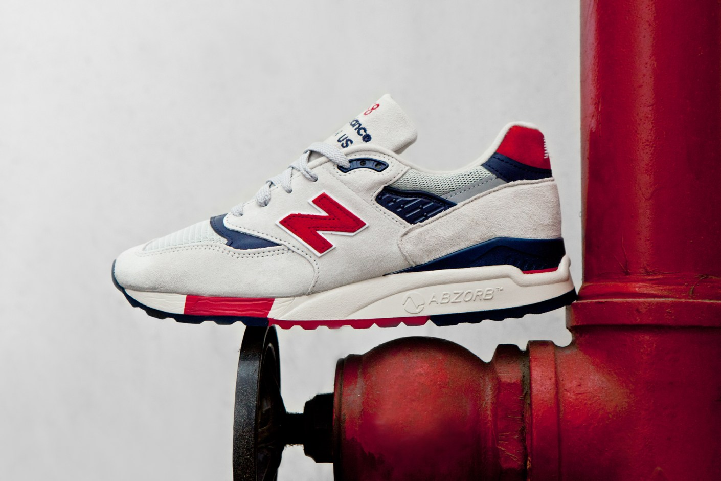 "Image of J.Crew x New Balance Made in USA M998 ""Independence Day"""