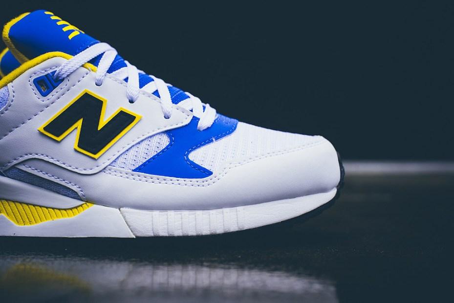 Image of New Balance M530 Blue/White/Yellow