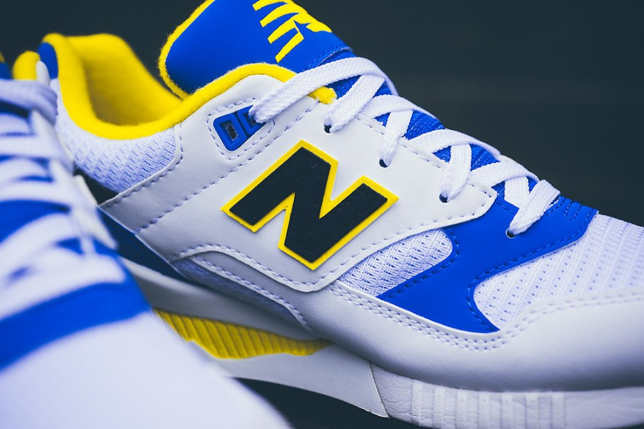Image of New Balance M530 Blue/White/Yellow