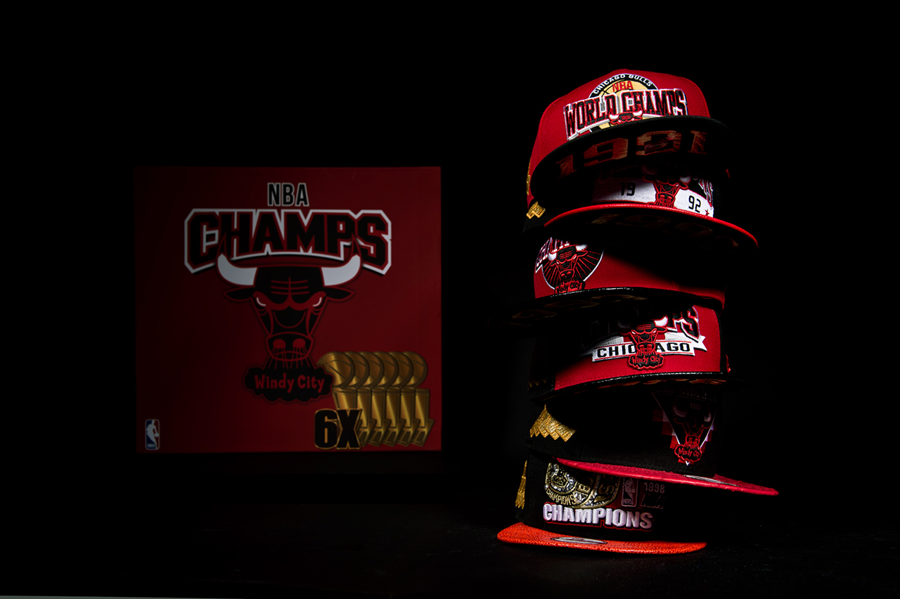 Image of New Era Chicago Bulls Six Championship Collector Pack