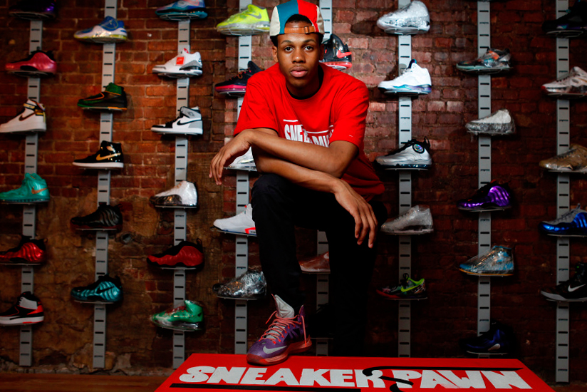 Image of New York Teen Opens World's First Sneaker Pawn Shop