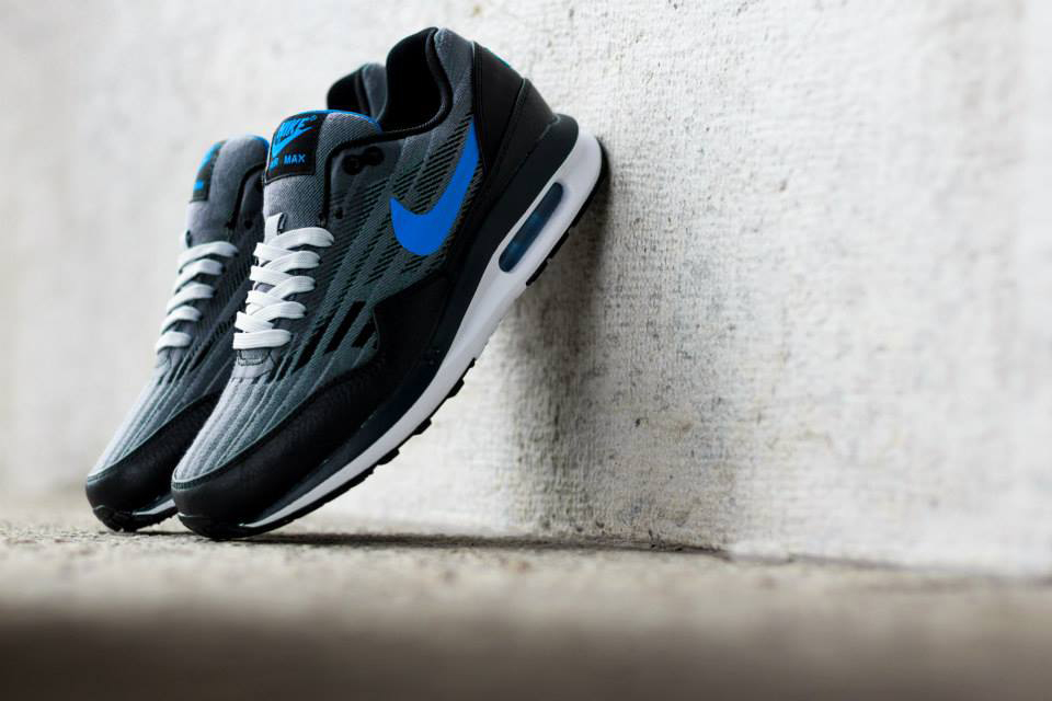 Image of Nike 2014 Summer Air Max Lunar 1 Jacquard Wolf Grey/Photo Blue