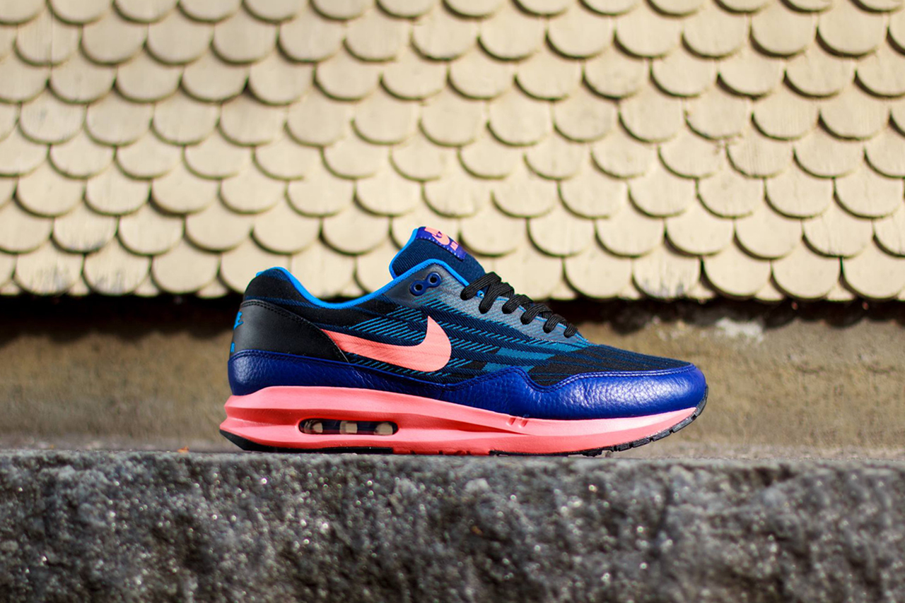Image of Nike Air Max Lunar1 Jacquard Black/Bright Mango/Deep Royal