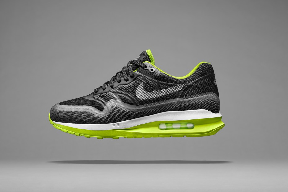 Image of Nike Air Max Lunar1 Black/Volt