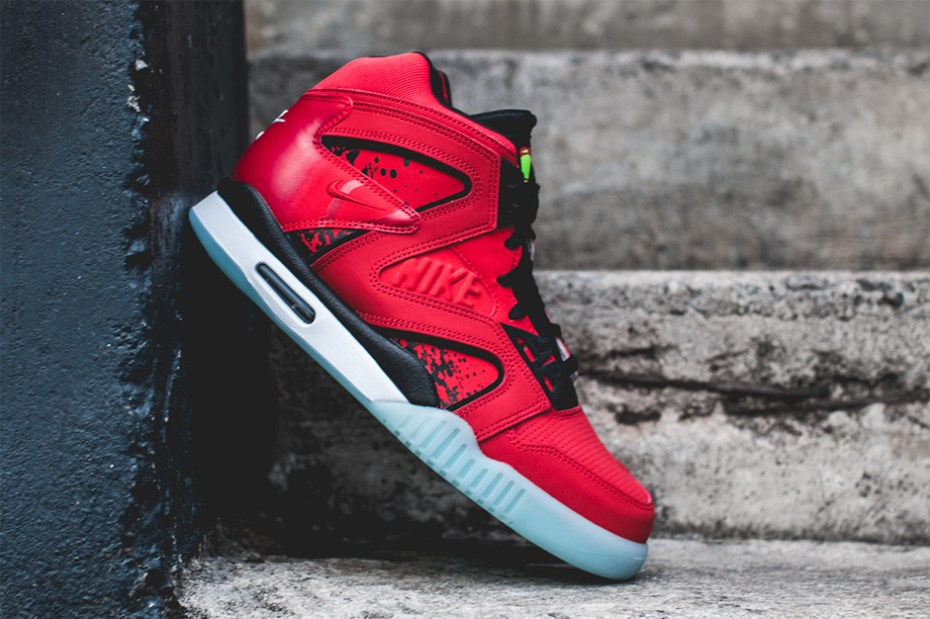 "Image of Nike Air Tech Challenge Hybrid ""Chilling Red"""