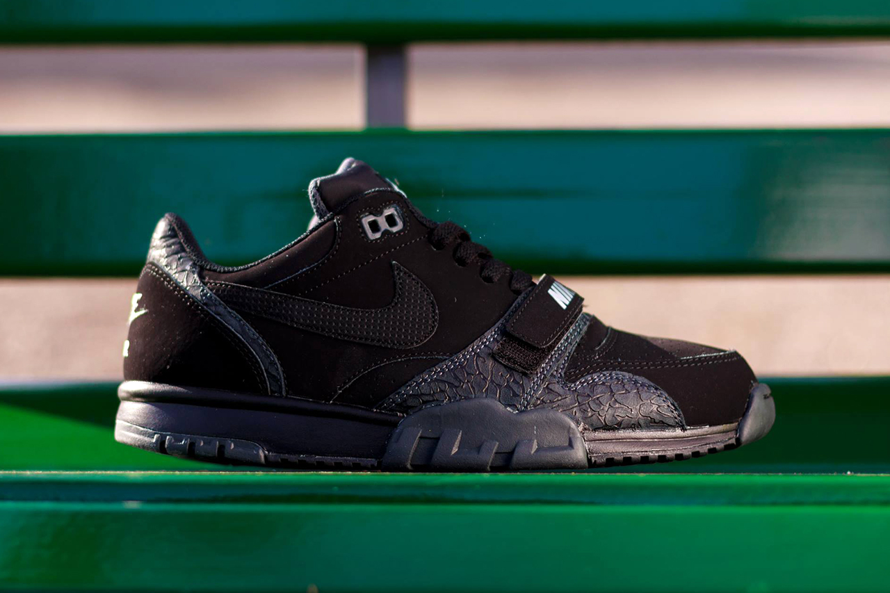 "Image of Nike Air Trainer 1 Low ST ""Black Elephant"""