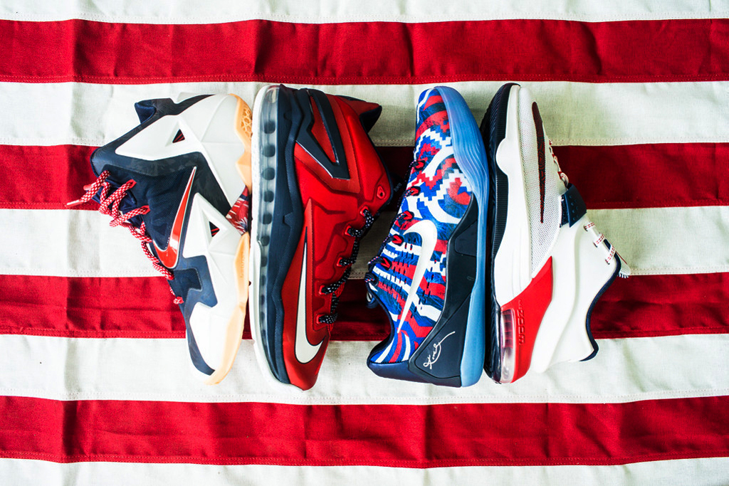 "Image of Nike Basketball 2014 Summer ""USA"" Pack"