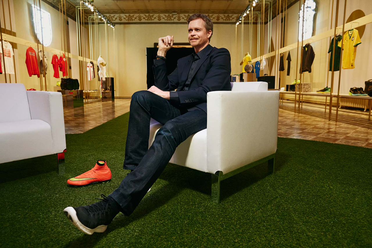 Image of Nike CEO Mark Parker Talks NikeLab with 032c