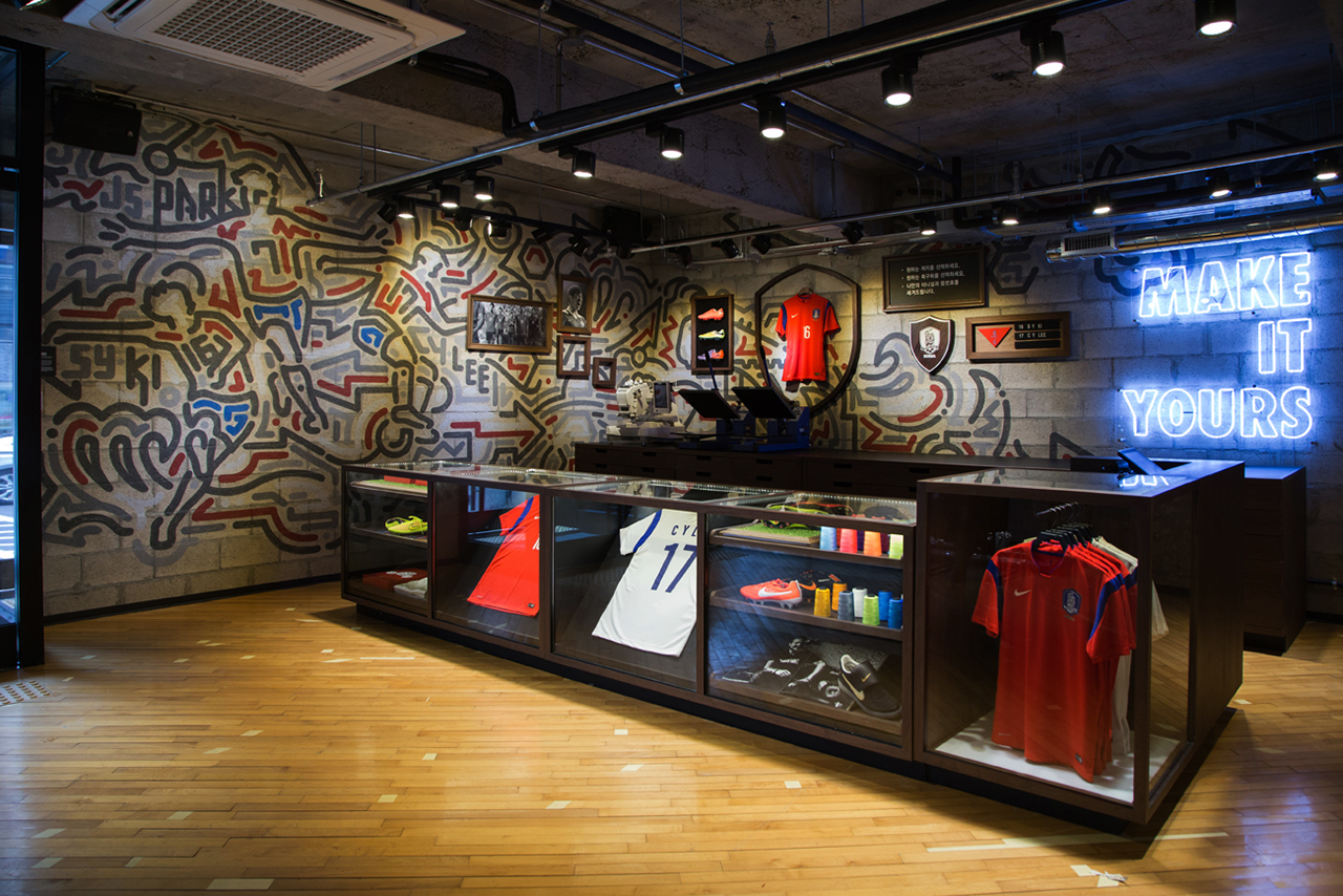 Image of Nike Gangnam Store Opening