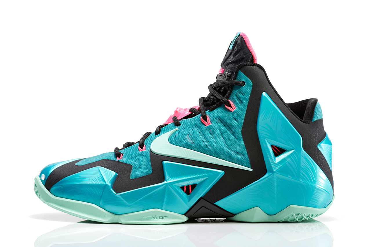 "Image of Nike LeBron 11 ""South Beach"""