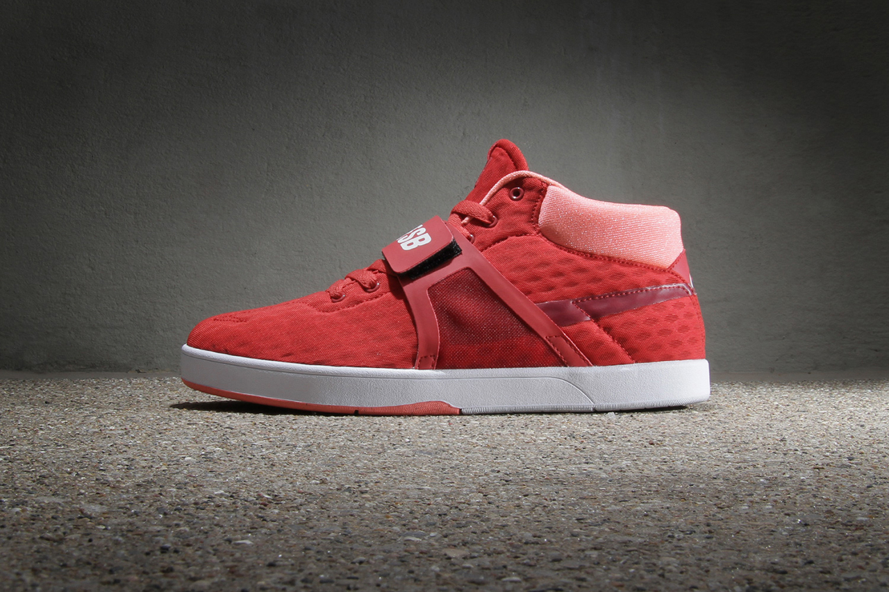 Image of Nike SB Eric Koston Mid R/R Red Clay/Team Red-Bright Mango