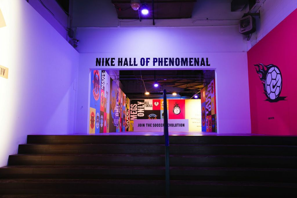 Image of Nike Soccer Launches Hall of Phenomenal in New York