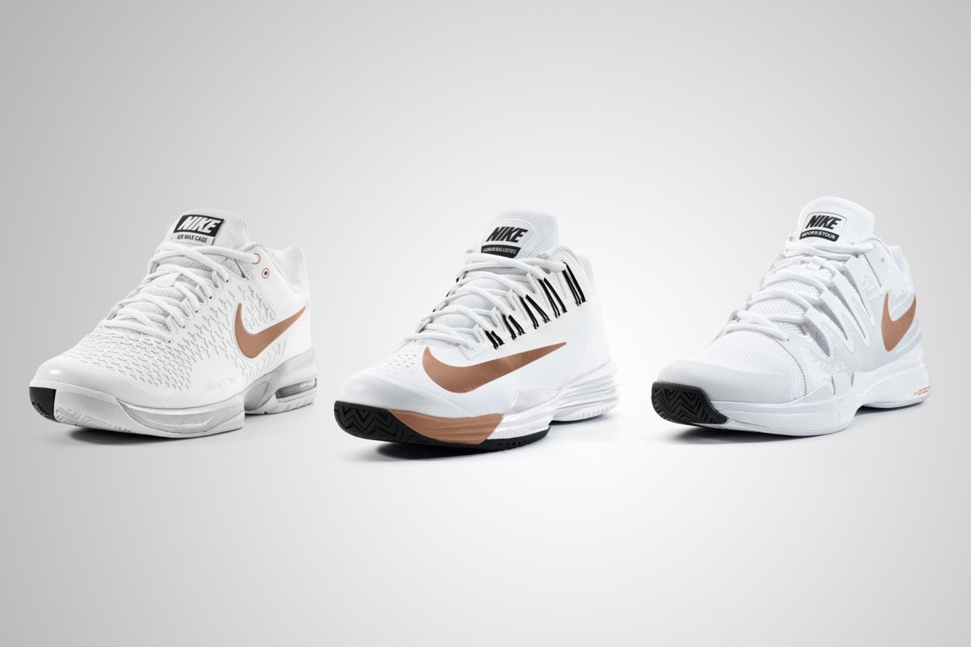 Image of Nike Tennis 2014 Wimbledon Footwear Collection