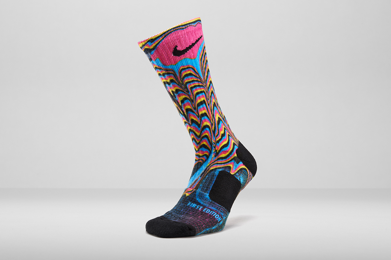 Image of Nike Unveils Elite Digital Ink Sock Printing Process