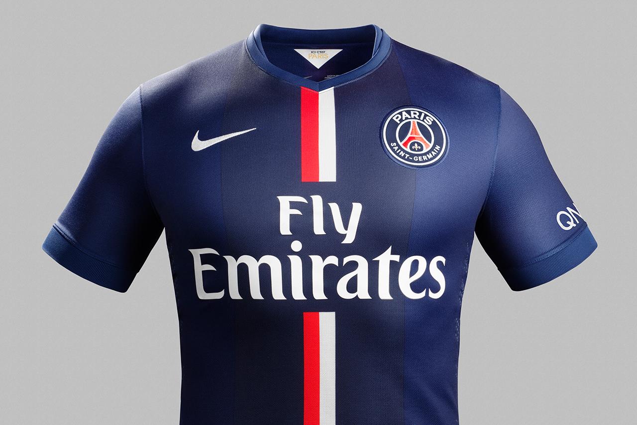 Image of Nike Unveils Paris Saint-Germain's New 2014/15 Kit