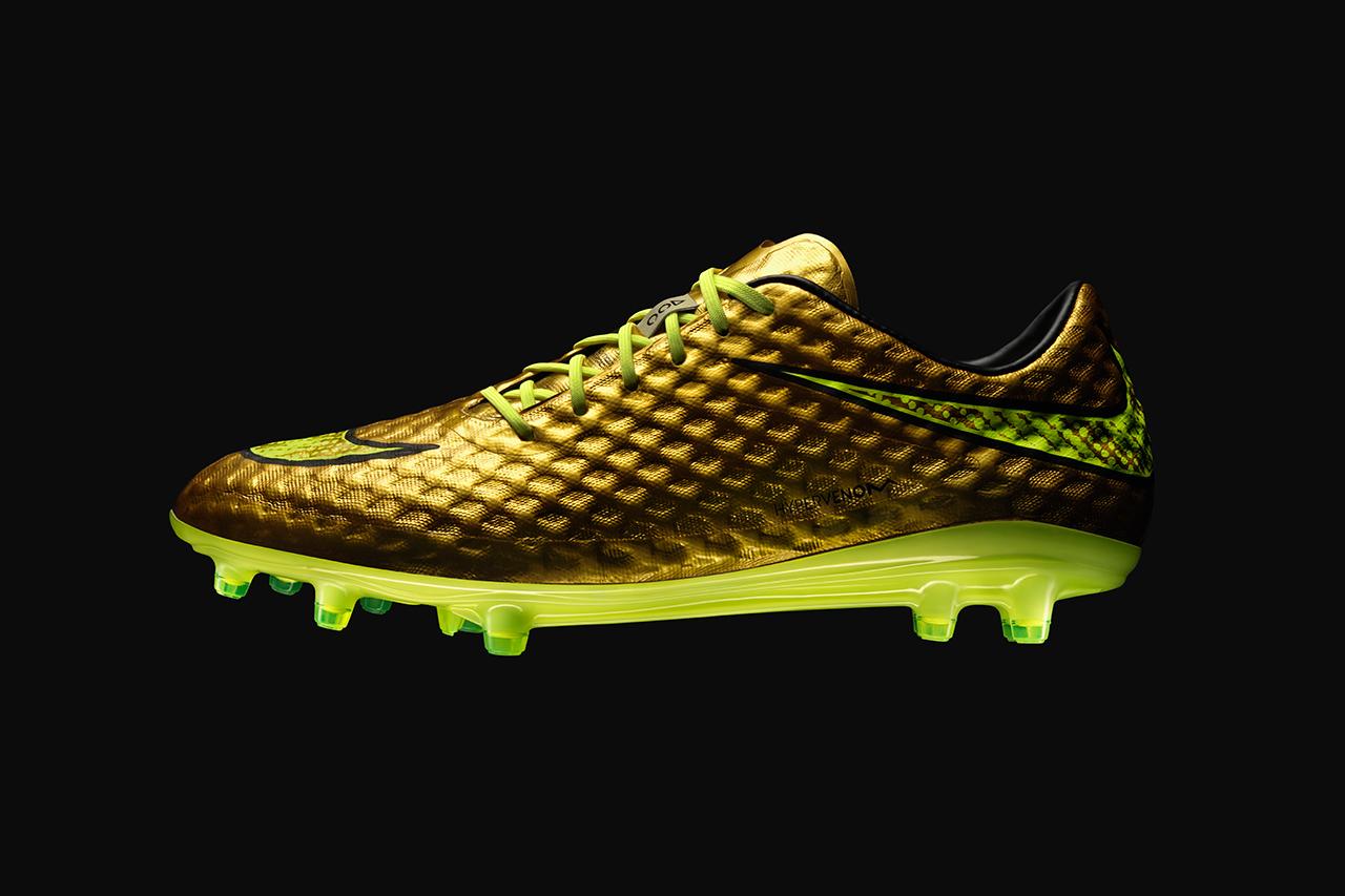 Image of Nike Unveils the Hypervenom Phantom Gold Special Edition for Neymar