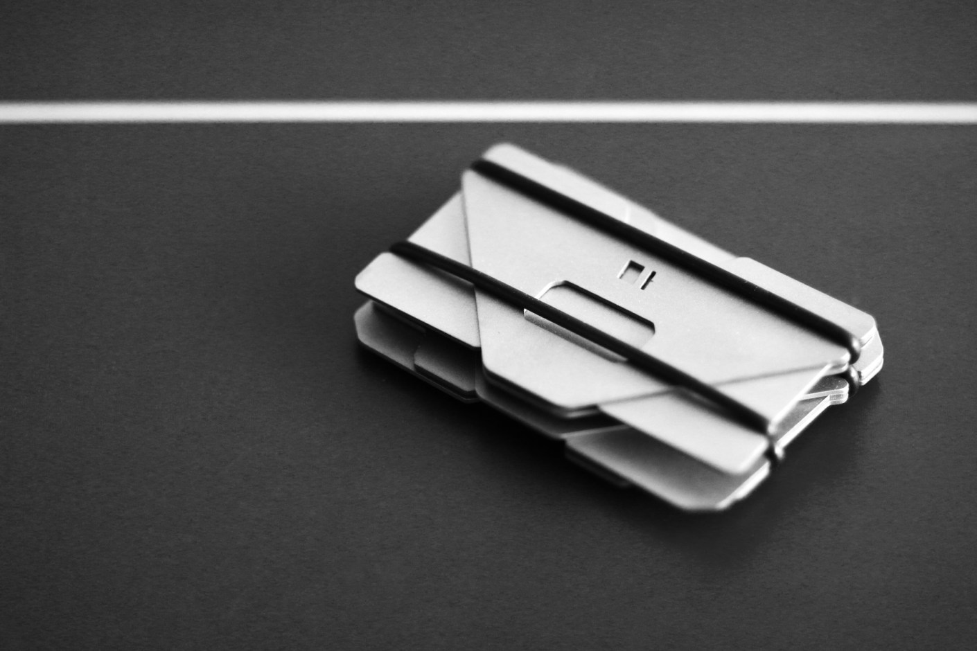 Image of Obstructures Aluminum Plate Wallets