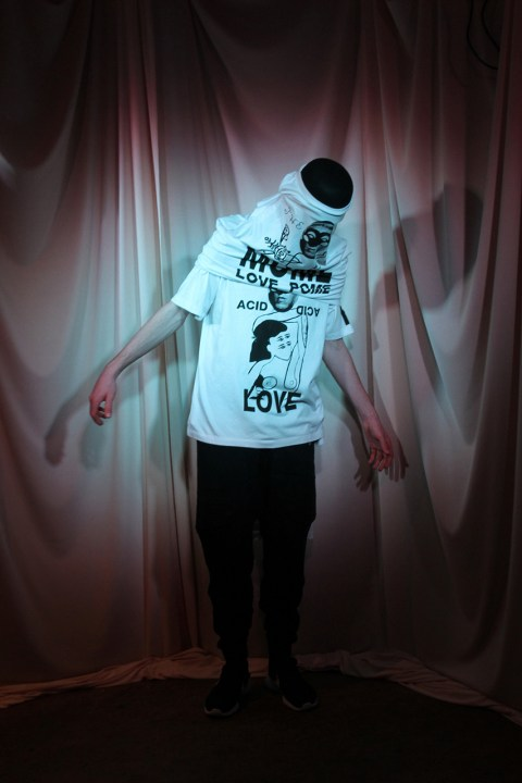 "Image of PAM ""Acid Poem"" T-Shirt Collection"