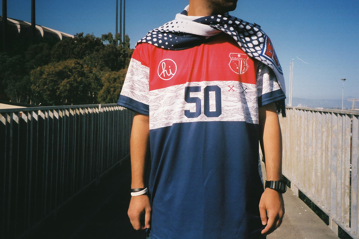 "Image of Paradise Soccer Club x In4mation 2014 Summer ""Merica"" Collection"