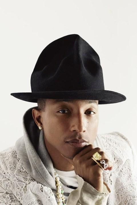 Image of Pharrell Williams by Doug Inglish for Elle UK
