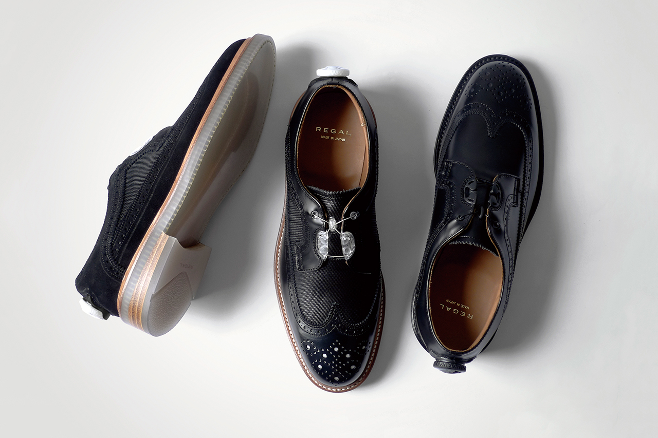 "Image of REGAL 2014 Wingtip ""Boa Technology"" Collection"