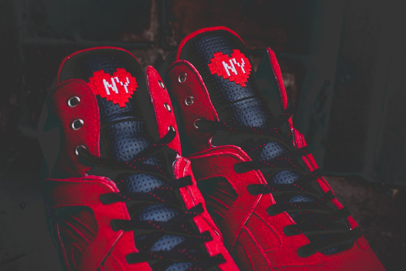 "Image of RISE x FILA Cage ""New York Is For Lovers"" Collaboration"