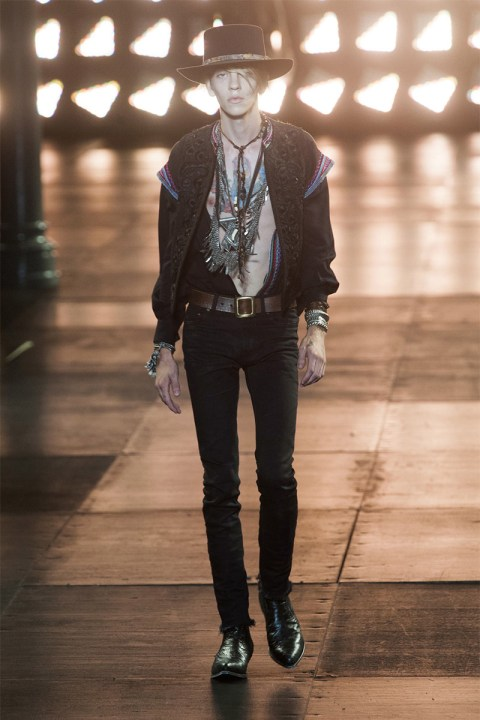 Image of Saint Laurent 2015 Spring/Summer Collection
