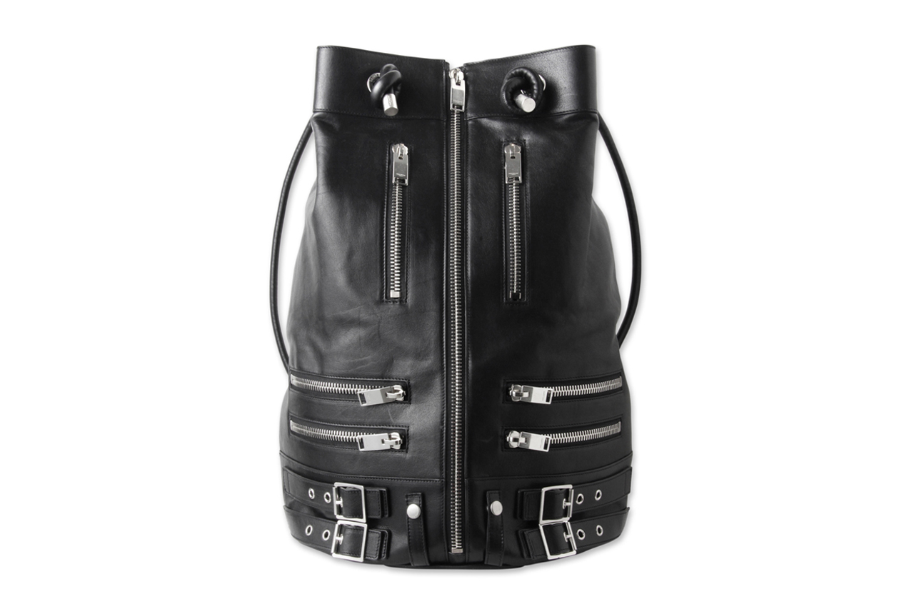 Image of Saint Laurent Riders Zip Bag