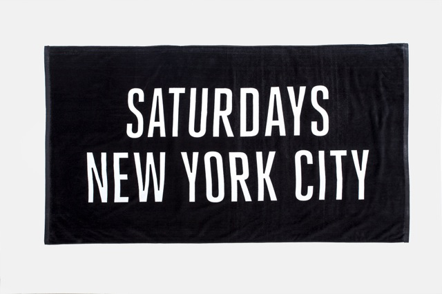 Image of Saturdays NYC 2014 Summer Beach Towels