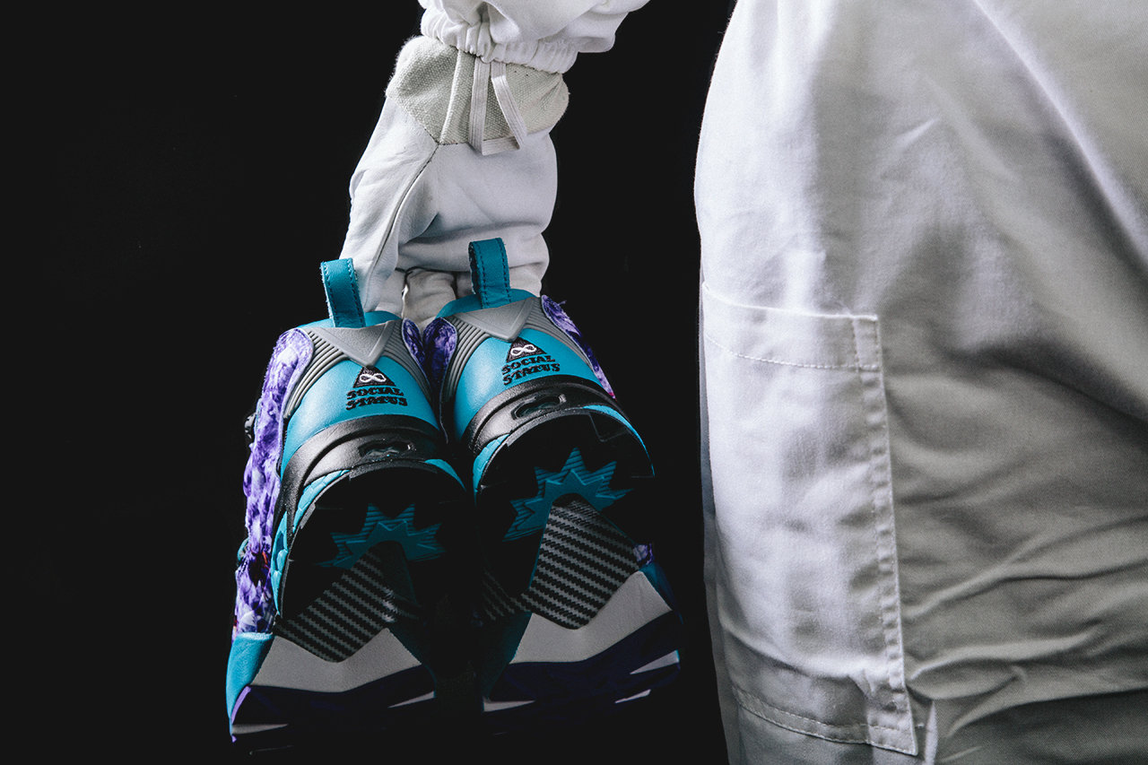 "Image of Social Status x Reebok Instapump Fury 20th Anniversary ""Hornets"" Preview"