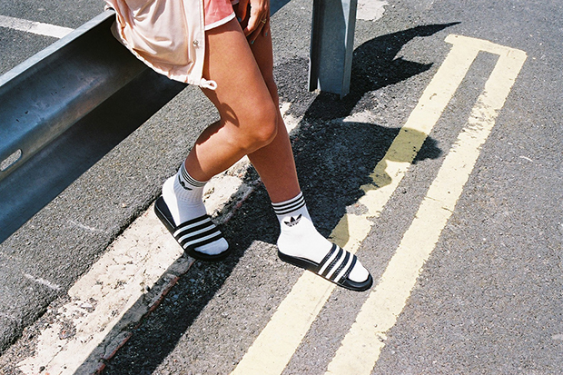 Image of adidas Originals Highlights #SocksnSlides with Photographer Michael Mayren