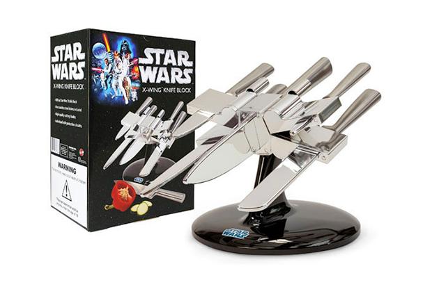 Image of Star Wars X-Wing Starfighter Knife Block