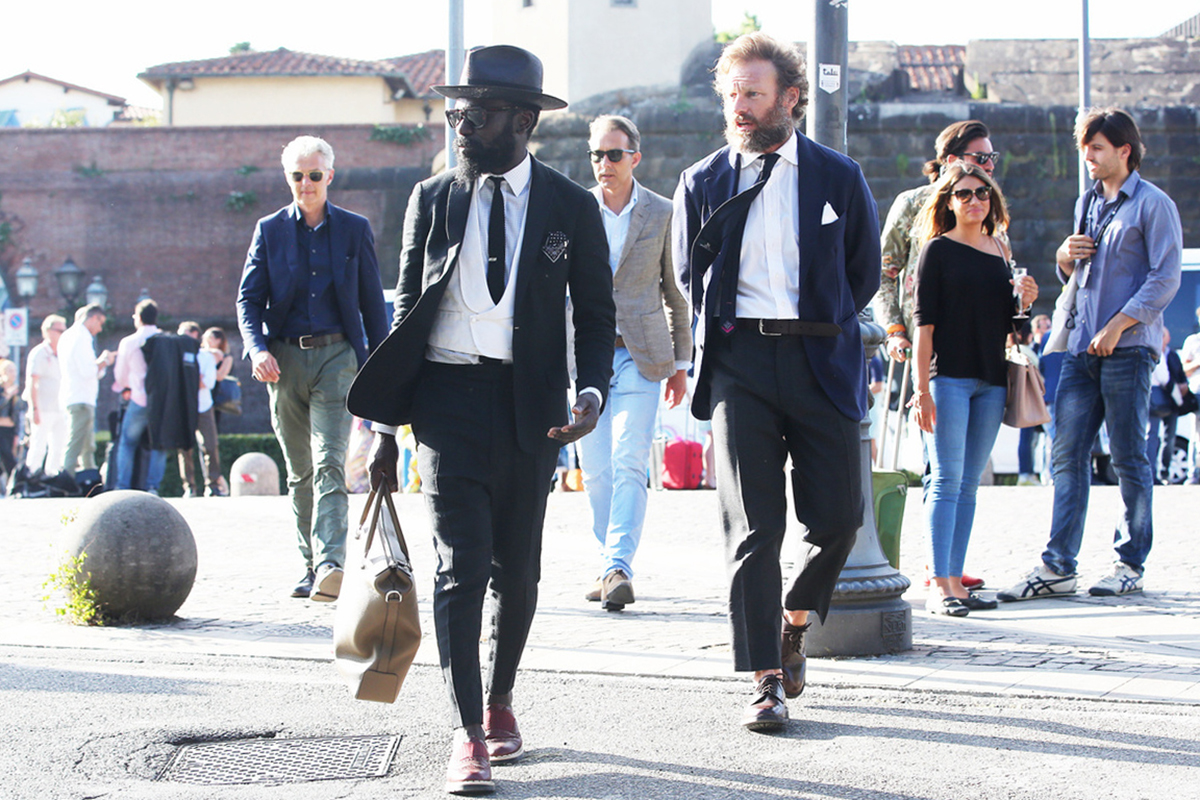 Image of STREETFSN: Pitti Uomo 86 Street Style for GRAZIA.IT