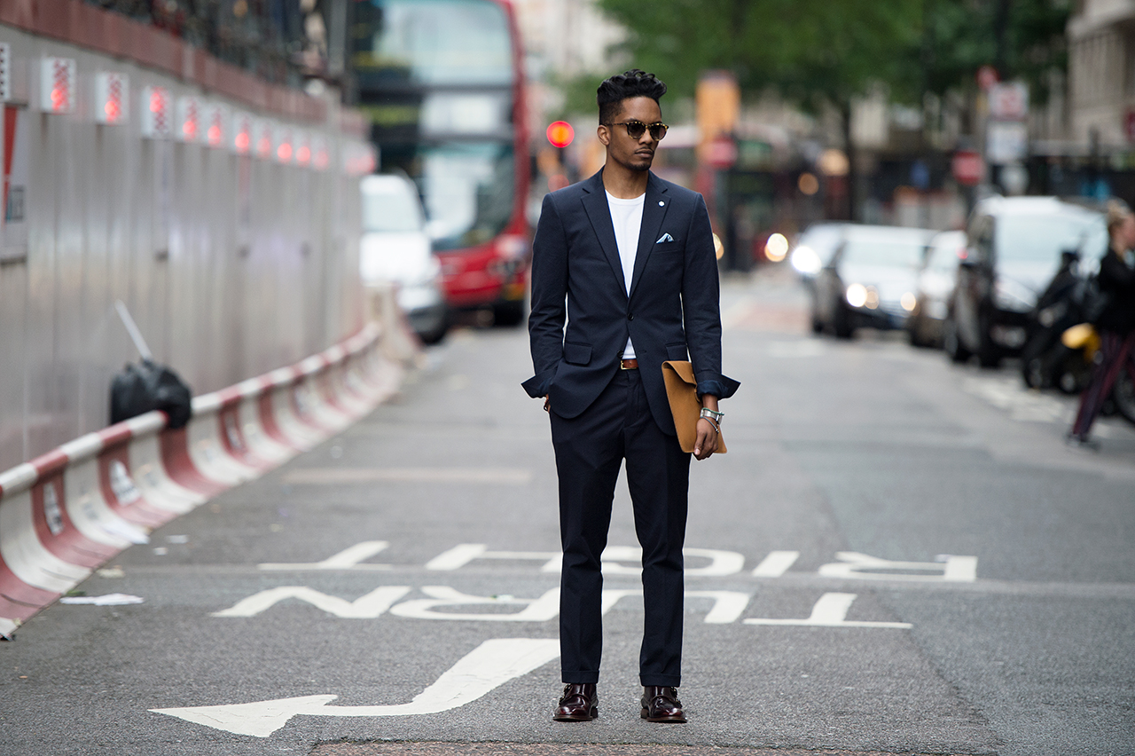 Image of Streetsnaps: London Collections - Men 2015 Spring/Summer Part 1