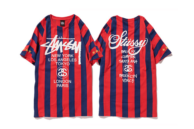 """Image of Stussy 2014 Summer """"NTRNTNL"""" Soccer Collection"""