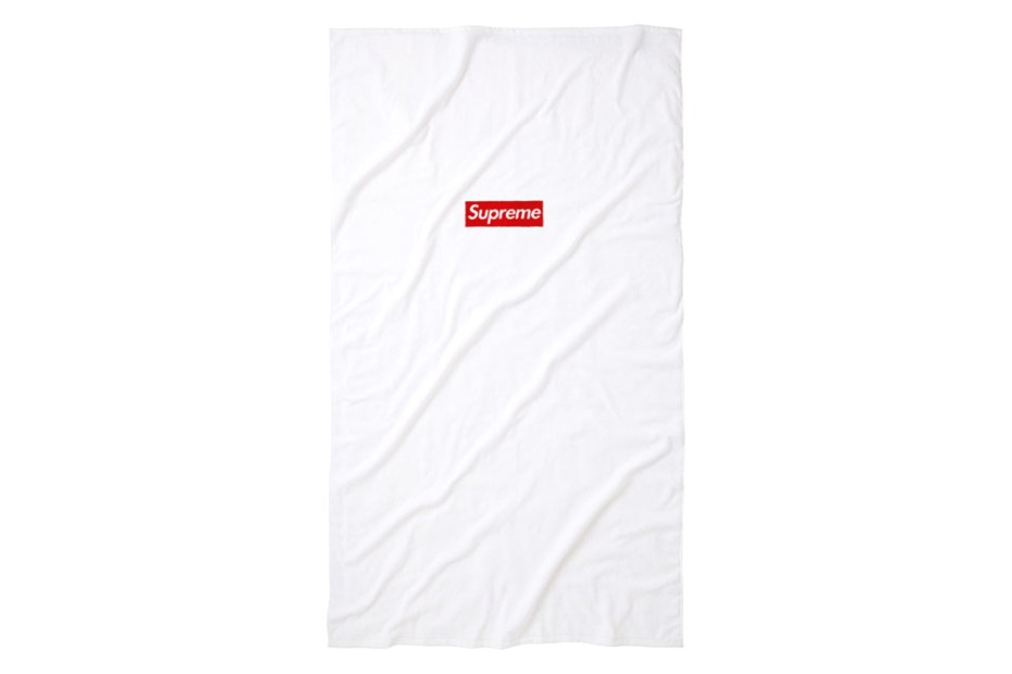 Image of Supreme 2014 Spring/Summer Box Logo Beach Towel