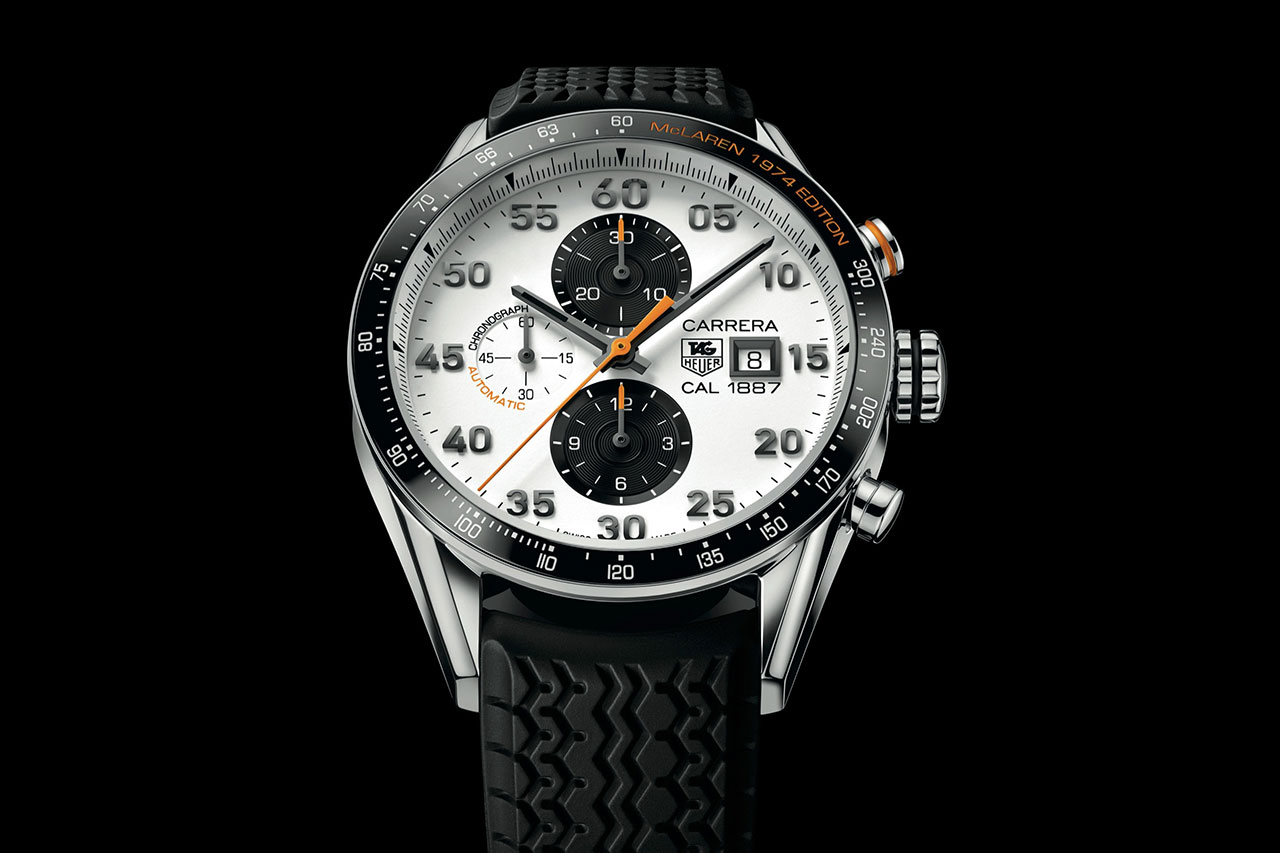 Image of TAG Heuer Carrera McLaren 1974 Edition