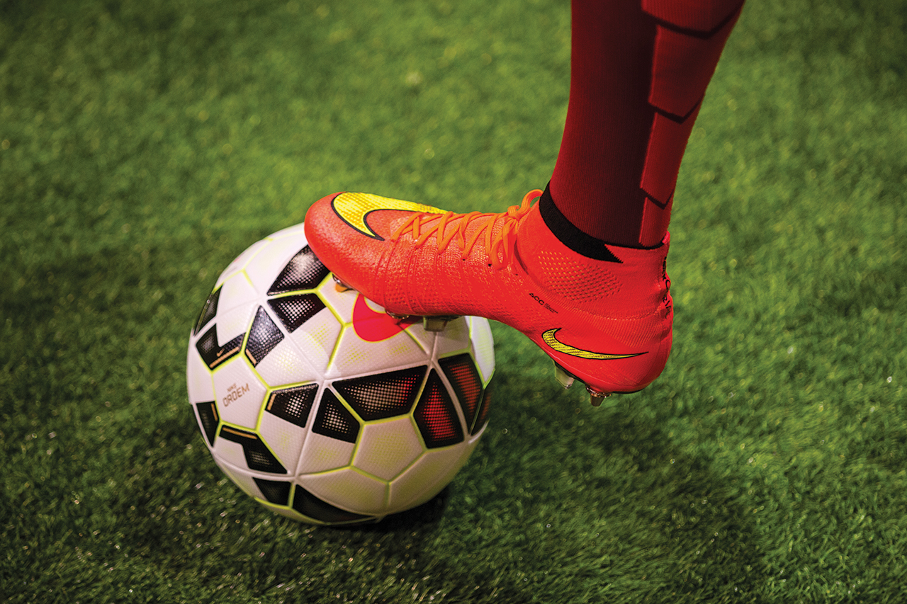 Image of Taking Center Stage: Highlighting Nike's Latest Football Innovations