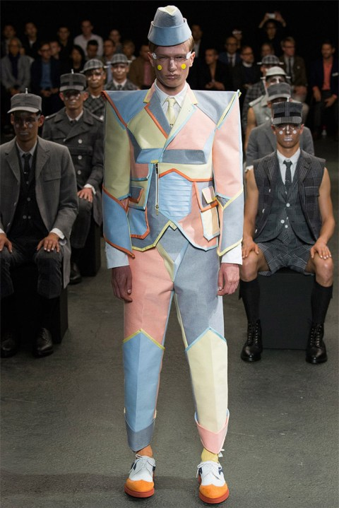 Image of Thom Browne 2015 Spring/Summer Collection