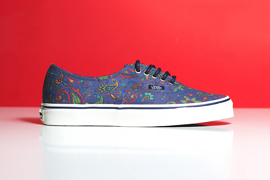 "Image of Vans Authentic ""Blue Paisley"""