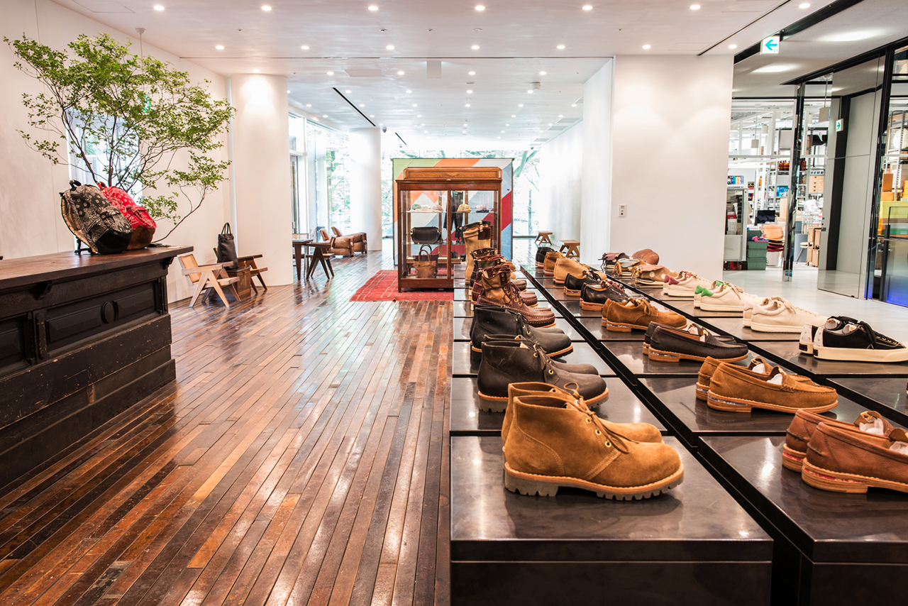 Image of visvim Flagship Store and little cloud coffee