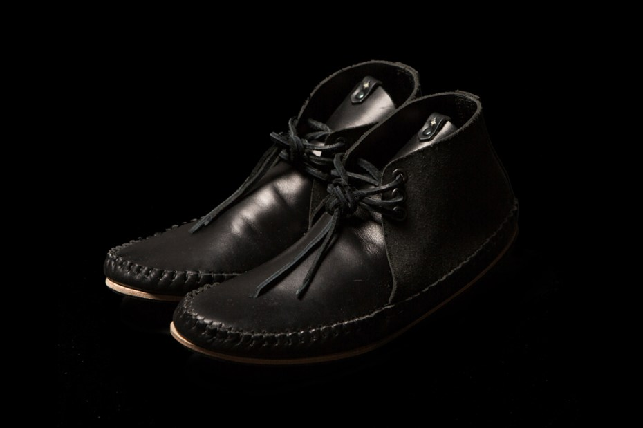 Image of wings+horns x Ken Diamond Handmade Moccasin