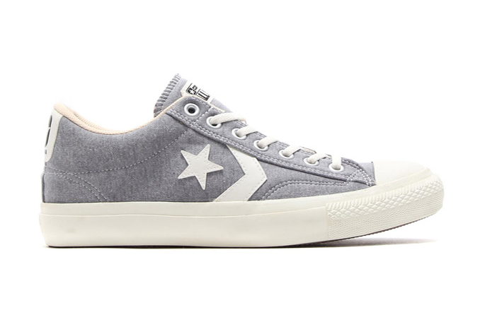 Image of XLARGE x Converse Japan 2014 Fall Canvas Chevronstar SWT Ox