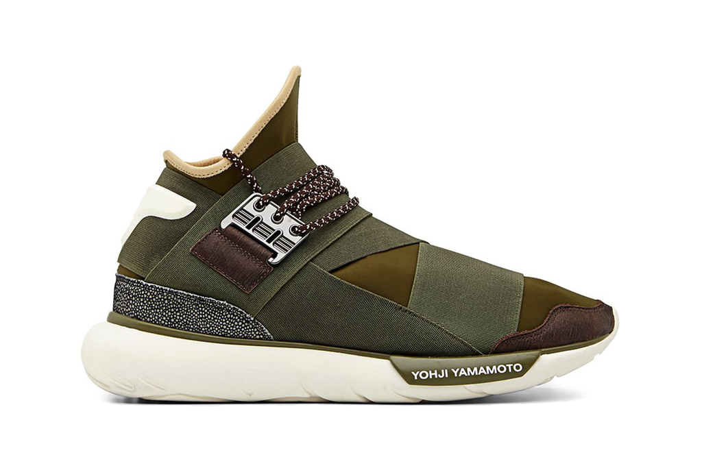 Image of Y-3 Qasa High Olive/Khaki