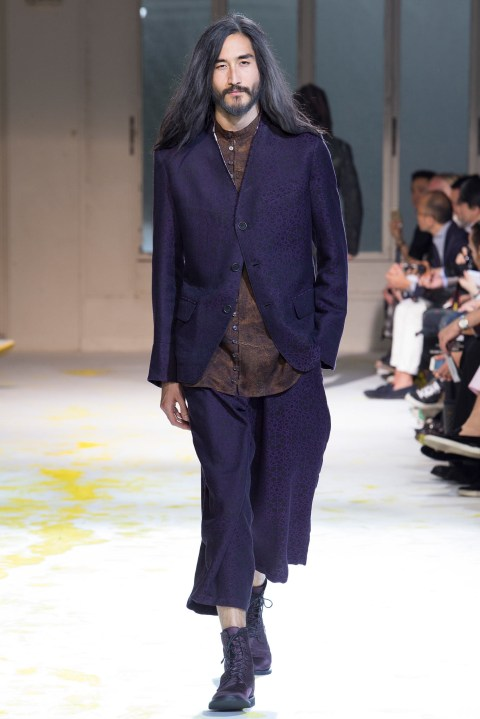 Image of Yohji Yamamoto 2015 Spring/Summer Collection