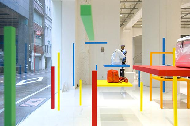 """Image of Yoichi Yamamoto x Issey Miyake """"CH-AIR-S"""" Installation"""